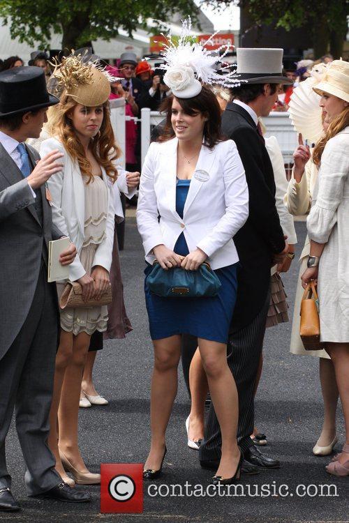 Princess Beatrice along with her boyfriend Dave Clark...