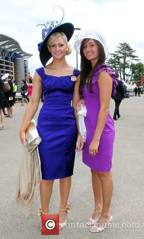 Ascot racegoer fashion Royal Ascot - Day 5...