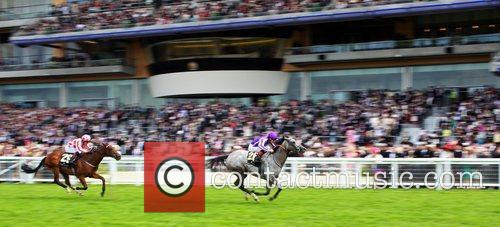 Ladies Poker Two and Johnny Murtagh winning the...