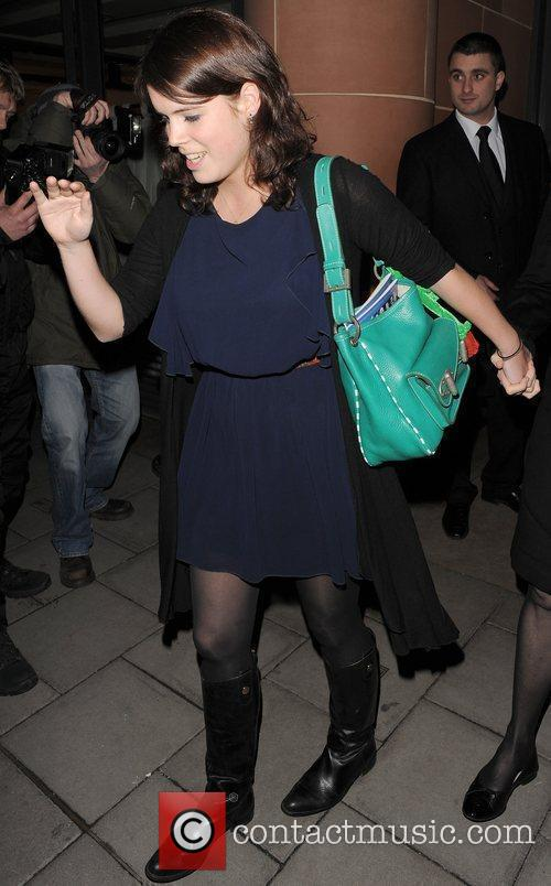Princess Eugenie leaving Cipriani restaurant, having had dinner...