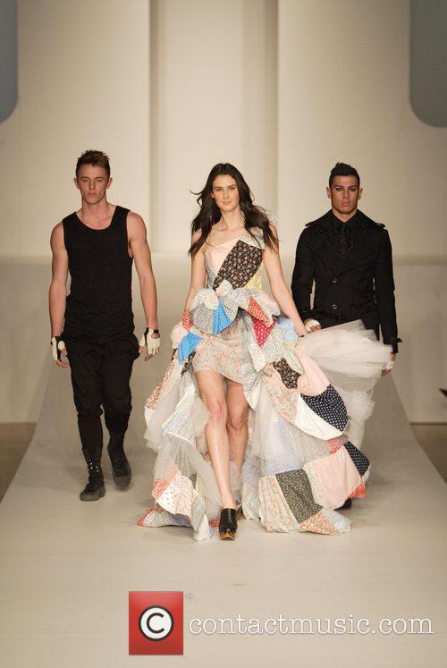 Model 2010 Rosemount Sydney Fashion Festival - Miss...