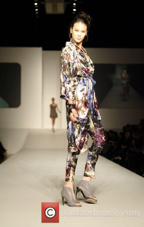 Model Brands Review Show on Day Two of...