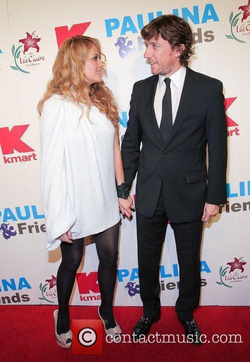 Paulina Rubio and Nicolas Colate Vallejo-Najera  attends...