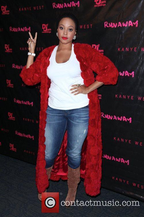 Chrisette Michele The New York premiere of 'Runaway'...