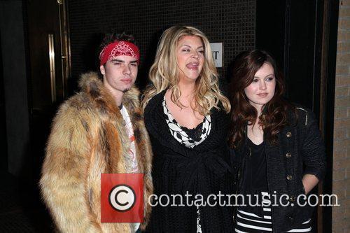 Kirstie Alley and Her Children 2