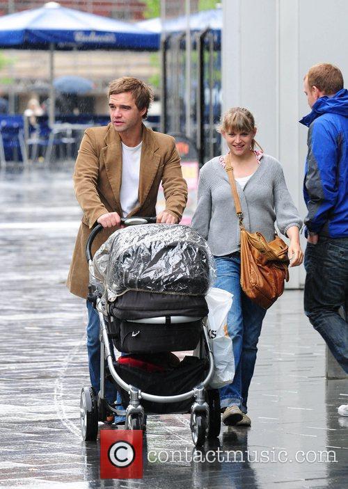 Rupert Hill and Jenny Platt Out Shopping In Spinningfield 4