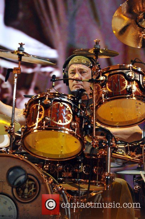 Neil Peart Canadian rock band Rush performs live...