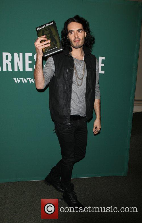 Russell Brand at book signing for 'Booky Wook...