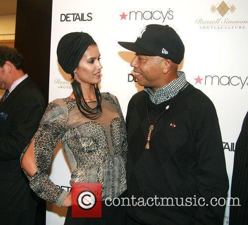 Russell Simmons and Jaslene Gonzalez 7