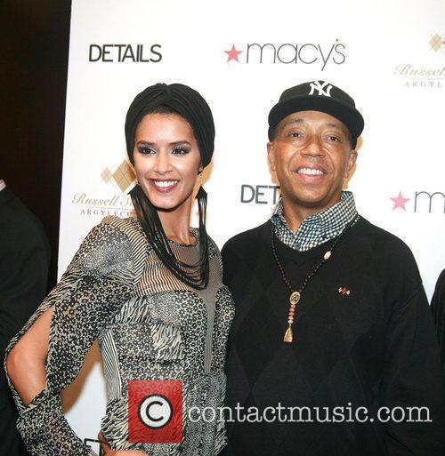 Russell Simmons and Jaslene Gonzalez 5