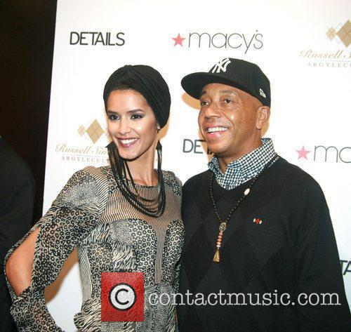Russell Simmons and Jaslene Gonzalez 1