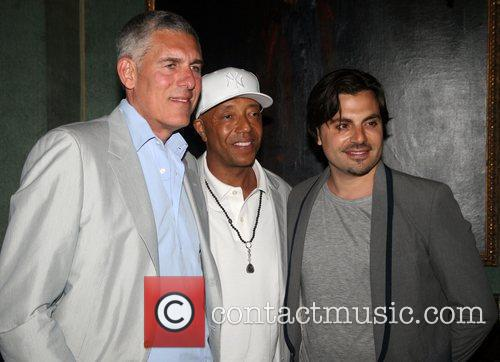 Lyor Cohen and Russell Simmons 2
