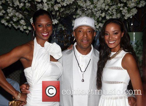 Russell Simmons, Selita Ebanks, National Arts Club