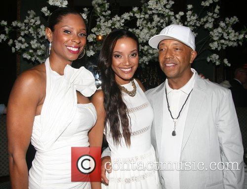 Russell Simmons and Selita Ebanks 1