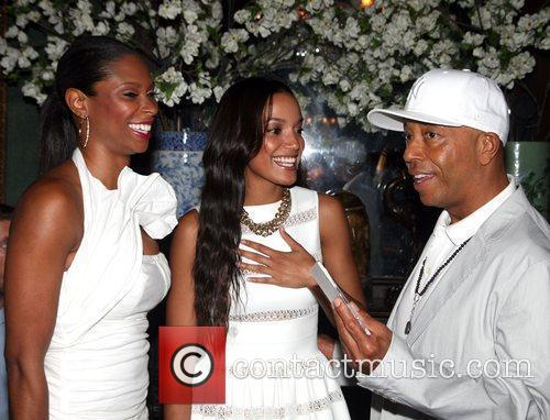Russell Simmons and Selita Ebanks 3