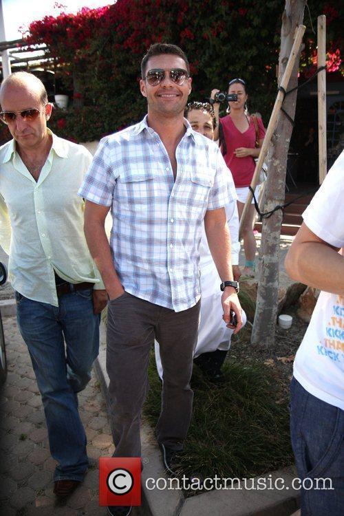 Ryan Seacrest at Tony Taverna Los Angeles, California