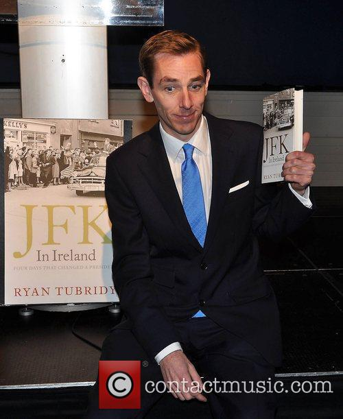 Ryan Tubridy launches his book 'JFK in Ireland'...