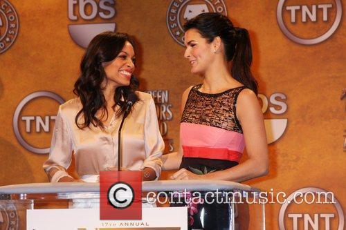 Rosario Dawson and Angie Harmon 4