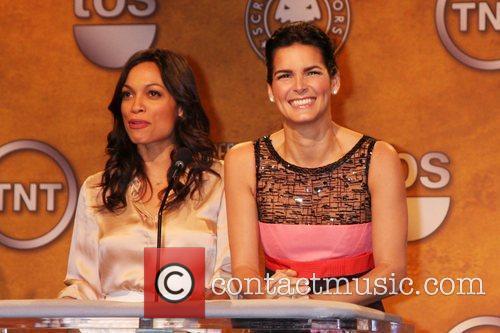 Rosario Dawson and Angie Harmon 5