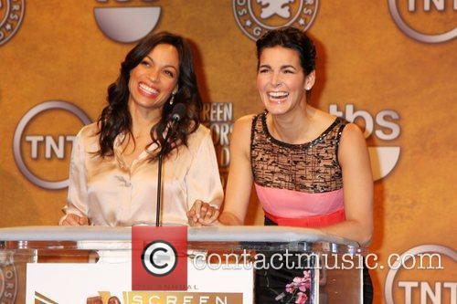 Rosario Dawson and Angie Harmon 7