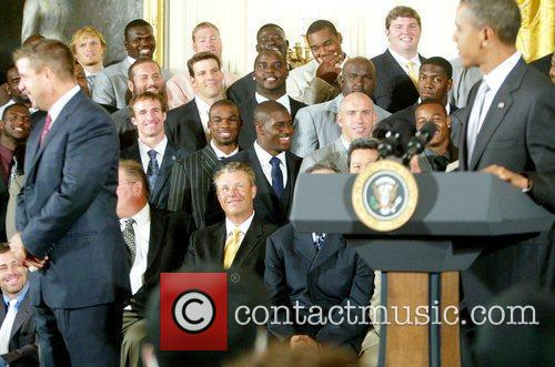 Reggie Bush and Barack Obama 2
