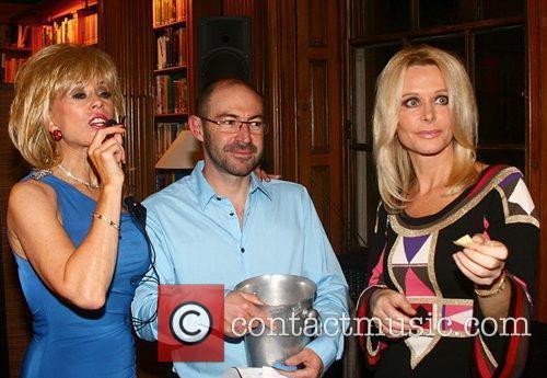 Sally Farmiloe, Guest and Tricia Walsh Smith Sally...