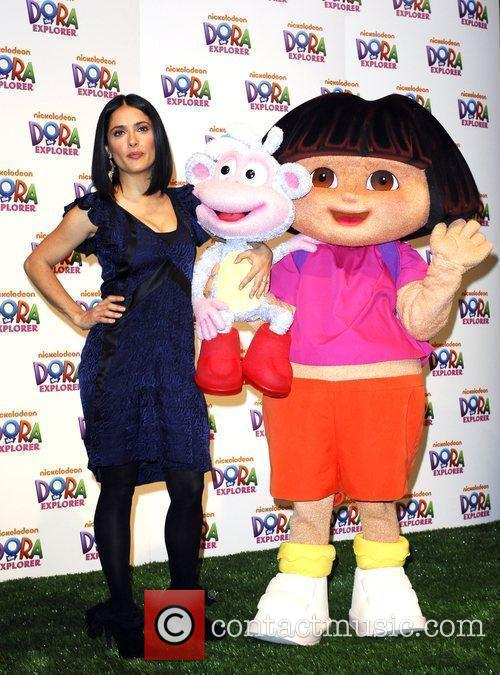 The Nickelodeon launch of Dora The Explorer's 10th...