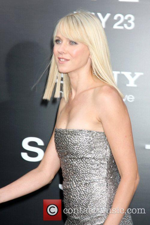 Naomi Watts attending the L.A. movie premiere of...