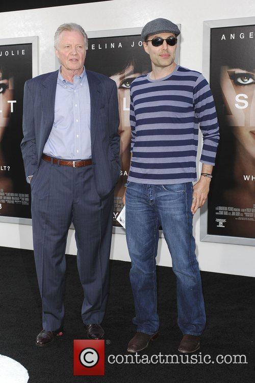 Jon Voight and son James Haven attending the...