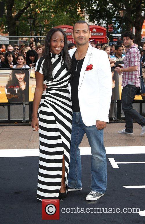 Angellica Bell and Michael Underwood UK film premiere...