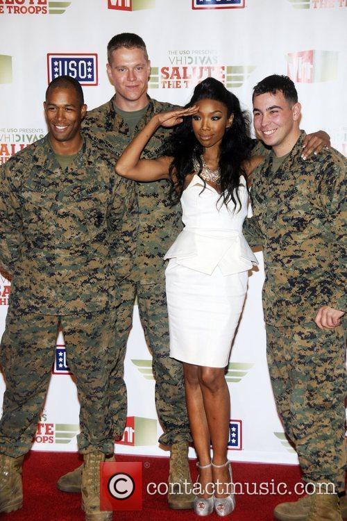 Brandy Norwood 'VH1 Divas Salute the Troops' presented...