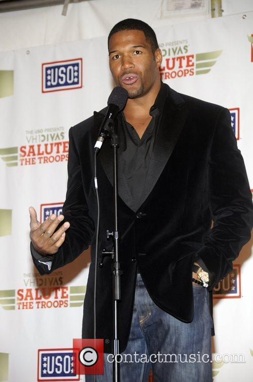Michael Strahan 'VH1 Divas Salute the Troops' presented...