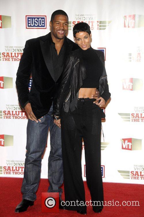 Michael Strahan and Nicole Murphy 'VH1 Divas Salute...