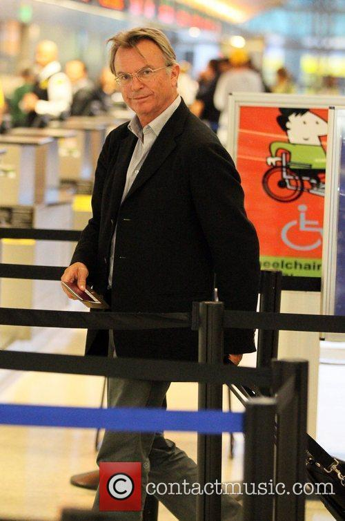 Arrives at LAX airport to board a flight