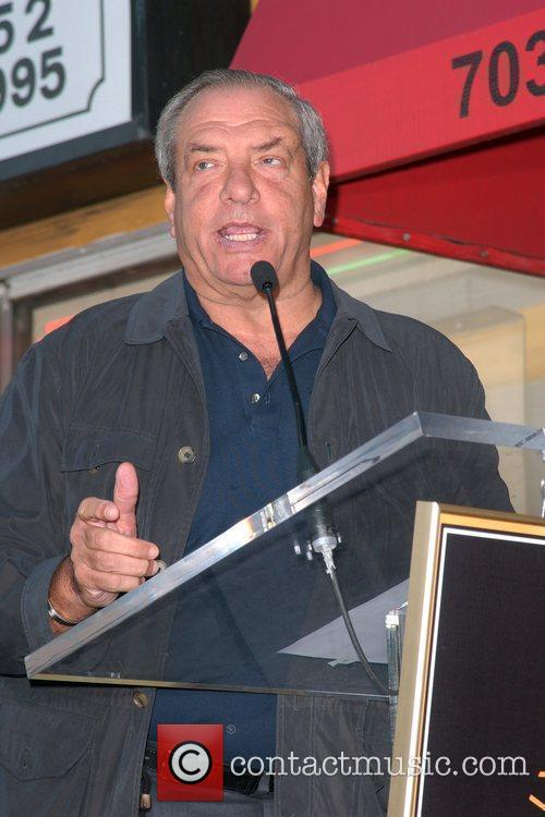 Dick Wolf talking at the The Hollywood Walk...