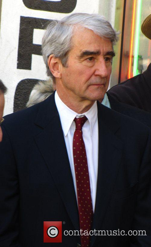 Sam Waterston  is honored with a star...
