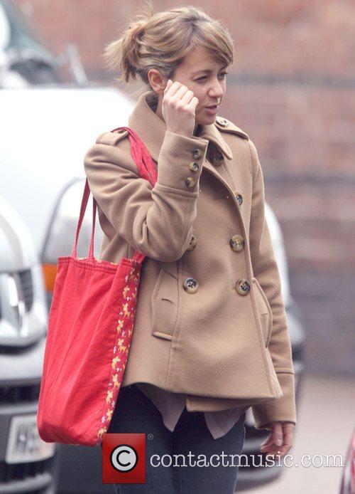 Samia Smith leaving the Granada Studios following the...