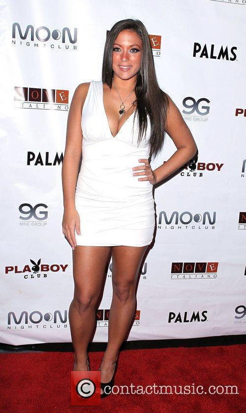Sammi Giancola Parties Jersey Shore Style at Moon...