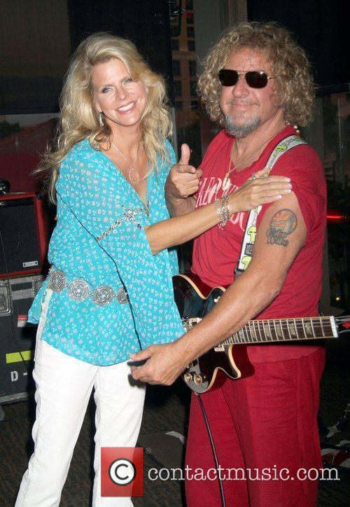 Kari and Sammy Hagar 1