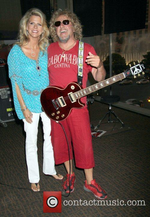 Kari and Sammy Hagar 4