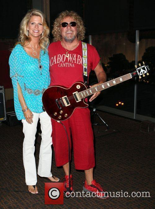Sammy Hagar Host Pre-Concert Party at CABO WABO...