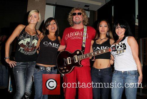 Sammy Hagar and CABO WABO Girls 1
