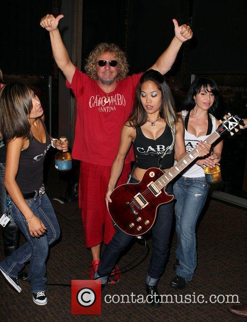 Sammy Hagar and Cabo Wabo Girlsr 11