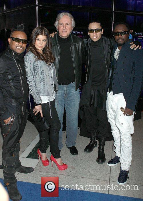 Black Eyed Peas and James Cameron 1