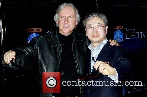 James Cameron and Black Eyed Peas 1