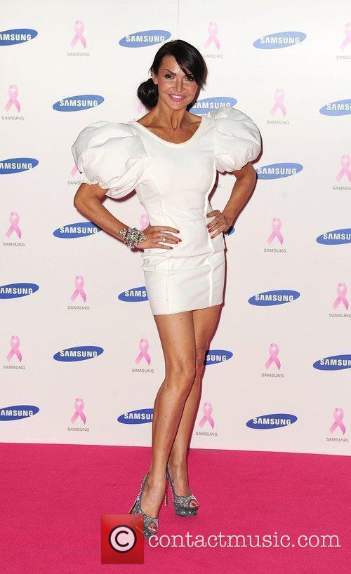 Lizzie Cundy,  at The Samsung Pink Ribbon...