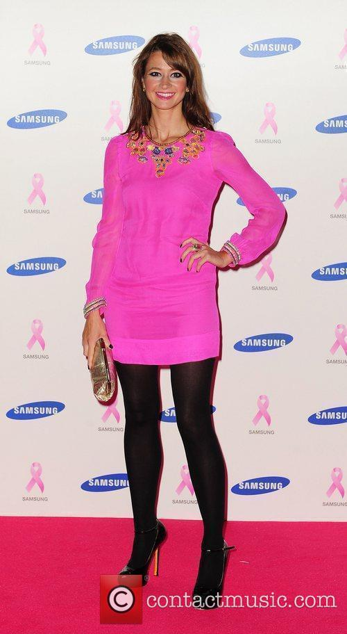 Ellie Crissell,  at The Samsung Pink Ribbon...