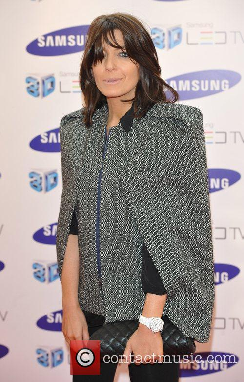 Claudia Winkleman Samsung 3D Television - party held...