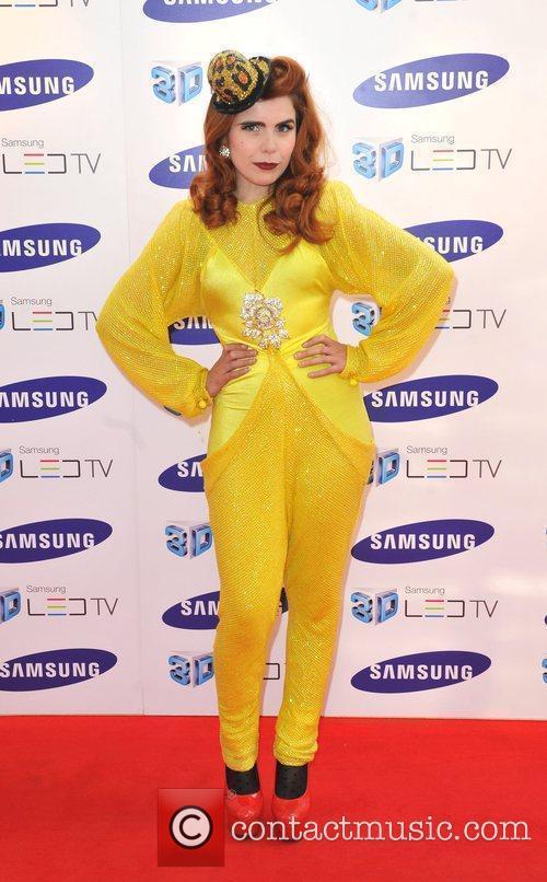 Paloma Faith Samsung 3D Television - party held...
