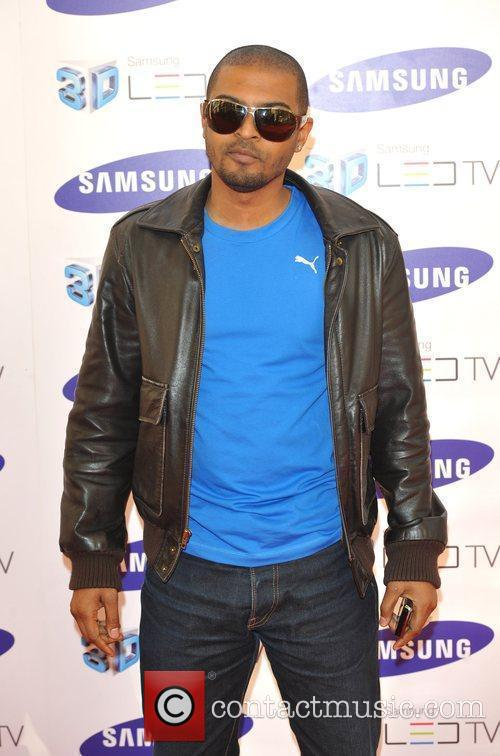 Noel Clarke Samsung 3D Television - party held...
